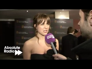 Gemma Atkinson interview at the BAFTA Video Games Awards 2011